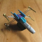A Post Your Boss Hates: How to Build a Star Wars X-Wing Fighter Out of Office Supplies