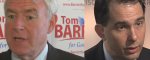First Wisconsin Recall Debate Yields Talking Points for Barrett, Backpedaling from Walker
