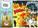 Sacramento Bee Refuses to Apologize for Cartoon That Takes Gov. Rick Perry to Task for Safety Deregulation