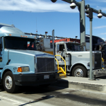 Port Truckers in CA Strike