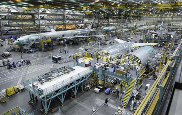 Boeing's SC plant