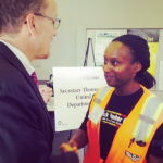 One of Michelle Obama's State of the Union Guests Was a One-Time Construction Union Apprentice
