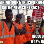 Following Misclassification Victory, Port of L.A. and Long Beach Teamsters Land Contract