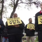 Silicon Valley Shuttle Drivers at Five More Companies Vote to Join Teamsters