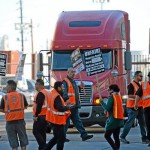 Truck Drivers for Large Chinese-Owned Company Demand Teamsters Representation in Long Beach