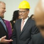Tradesmen Turned Legislative Leaders Flank Sec. Perez at Apprenticeship, Training Program Celebration