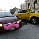 More Tech Co. Bus Drivers Join the Teamsters; More Taxi Drivers Protest Uber, Lyft