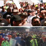 San Jose Construction Workers Protest Use of Outside Labor: